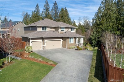 Lake Tapps WA Single Family Home Contingent: $624,900