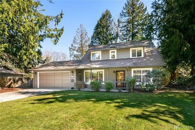 Sammamish Single Family Home For Sale: 1457 224th Ave NE