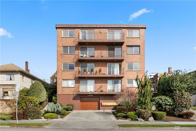 Everett Condo/Townhouse For Sale: 2619 Rucker Ave #5