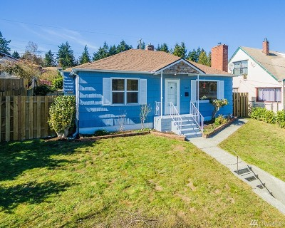 Bremerton Single Family Home For Sale: 2447 N Wycoff St
