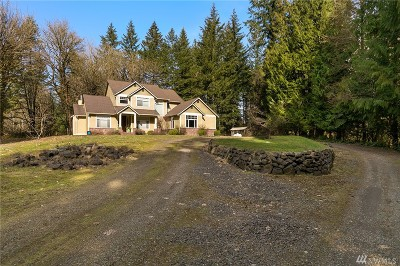 Olympia Single Family Home For Sale: 12442 Waddell Creek Rd SW