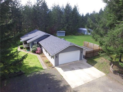 Shelton Single Family Home For Sale: 250 W Dayton Trails Dr