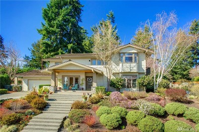 Mercer Island Single Family Home For Sale: 3215 74th Place SE