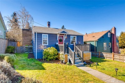 Seattle Single Family Home For Sale: 6707 34th Ave SW