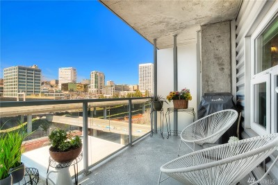 Pierce County Condo/Townhouse For Sale: 1515 Dock St #708