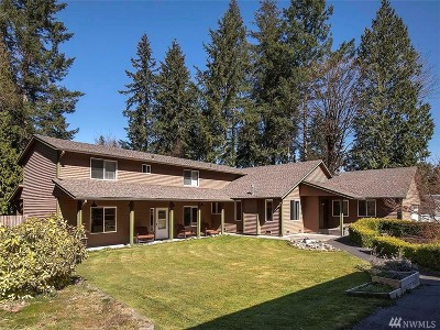 Snohomish Single Family Home For Sale: 8129 207th St SE