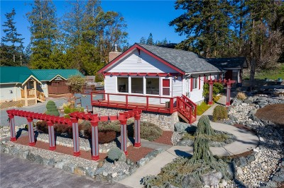 Anacortes Single Family Home Pending Inspection: 6002 Sunset Ave