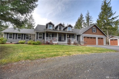 Olympia Single Family Home Contingent: 8139 Baird Rd NE