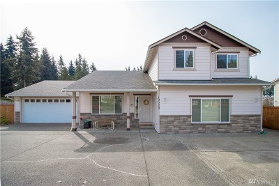 Puyallup Single Family Home For Sale: 10520 248 St Ct E
