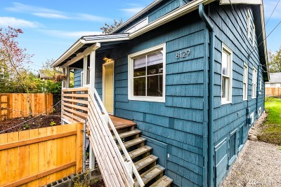 Seattle Single Family Home For Sale: 8129 9th Ave SW