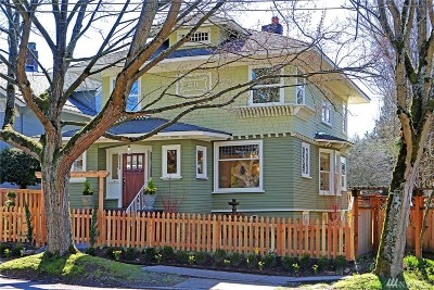 Seattle Single Family Home For Sale: 3111 E Cherry St
