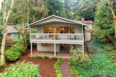 Mercer Island Single Family Home For Sale: 6830 E Mercer Wy