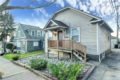 Everett Single Family Home For Sale: 1309 Everett Ave