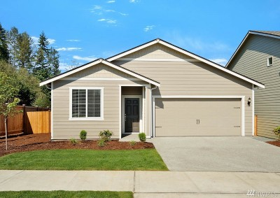 Single Family Home For Sale: 19104 112th Av Ct E
