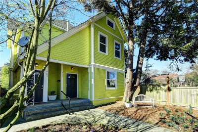 Seattle Single Family Home For Sale: 903 21st Ave