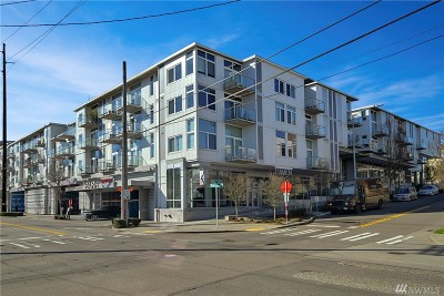 Seattle Condo/Townhouse For Sale: 501 Roy St #T205
