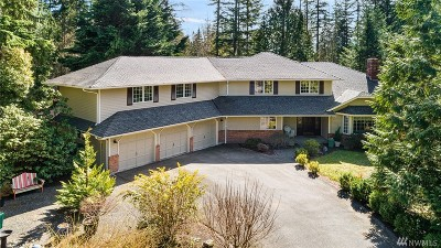 Woodinville Single Family Home For Sale: 18605 NE 191st St