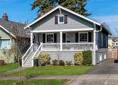 Seattle Single Family Home For Sale: 136 NW 77th