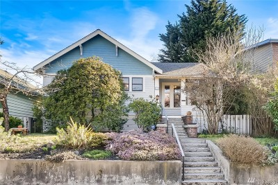 Seattle Single Family Home For Sale: 2641 NW 60th St