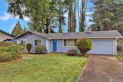 Olympia WA Single Family Home For Sale: $245,000