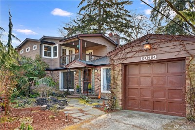 Seattle Single Family Home For Sale: 1039 NE 104th St