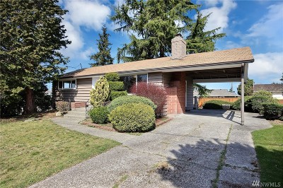 Seattle Single Family Home For Sale: 6012 S 119th St