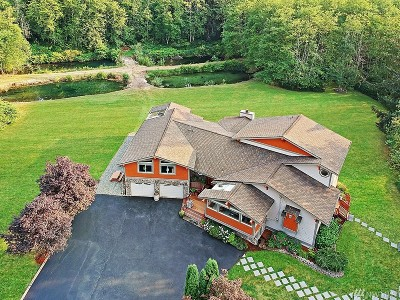North Bend, Snoqualmie Single Family Home For Sale: 43427 SE 92nd St