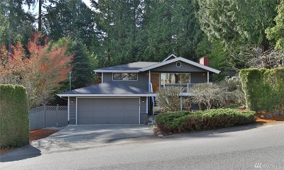 Bellevue Single Family Home For Sale: 10023 NE 28th Place