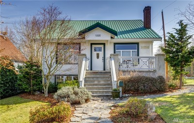 Bellingham Single Family Home For Sale: 1000 Mason Street