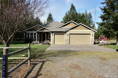 Yelm Single Family Home For Sale: 15210 Lindsay Rd SE
