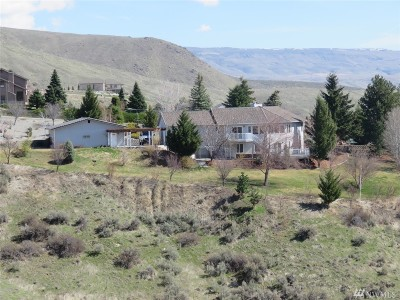 Chelan County Single Family Home For Sale: 4348 Anna Ln