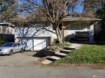 Shoreline Single Family Home For Sale: 1846 N 184th St