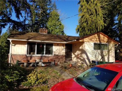 Shoreline Single Family Home For Sale: 18409 Meridian Ave N
