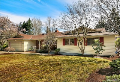Bellevue Single Family Home For Sale: 1834 128th Ave SE