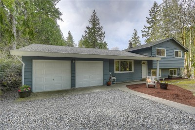 Gig Harbor Single Family Home For Sale: 5310 Hunt St NW