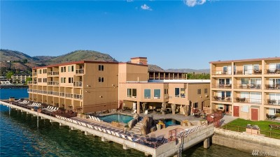 Douglas County, Chelan County Condo/Townhouse For Sale: 322 W Woodin Ave #612