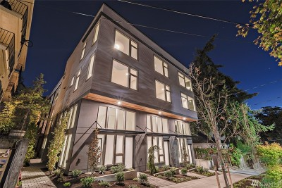 Seattle Single Family Home For Sale: 1005 W Howe St