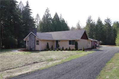 Shelton Single Family Home For Sale: 2010 W Cloquallum Rd