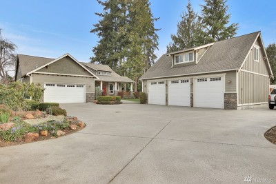 Pierce County Single Family Home For Sale: 411 4th Ave NE