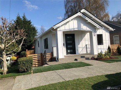 King County Single Family Home For Sale: 3418 Alamo Place S