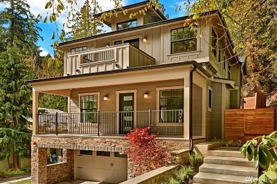 Mercer Island Single Family Home For Sale: 4451 E Mercer Wy