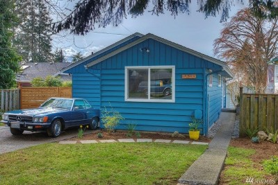 Seattle Single Family Home For Sale: 10255 California Ave SW