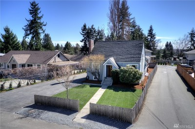 Seattle Single Family Home For Sale: 1815 SW 114th St