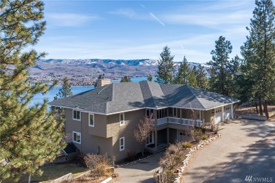 Chelan County Single Family Home For Sale: 7560 Chelan Ridge Rd