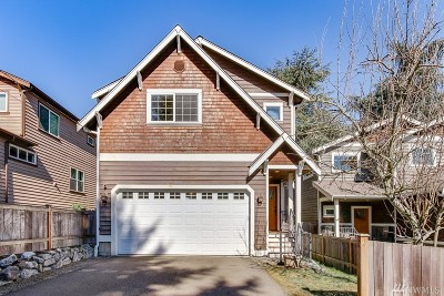 Seattle Single Family Home For Sale: 918 SW Austin St