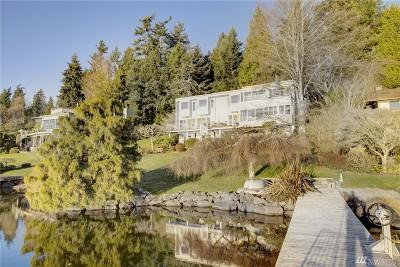 Mercer Island Single Family Home For Sale: 5438 E Mercer Way