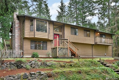 Poulsbo Single Family Home For Sale: 23421 Rhododendron Lane NW