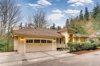 Mercer Island WA Single Family Home For Sale: $1,295,000