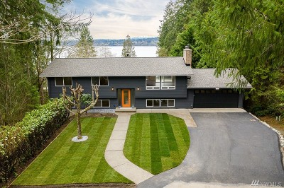 Gig Harbor Single Family Home For Sale: 6 Marble Beach Lane NW