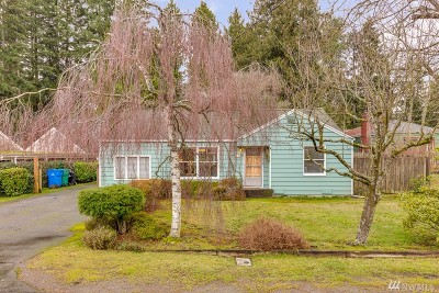 Shoreline Single Family Home For Sale: 17547 10th Ave NE